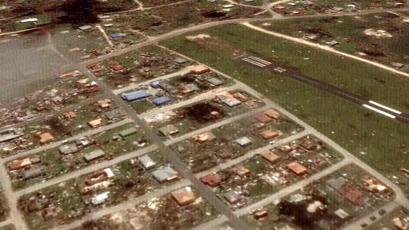 Hurrikan Irma Google Earth Zerstörung Karibik