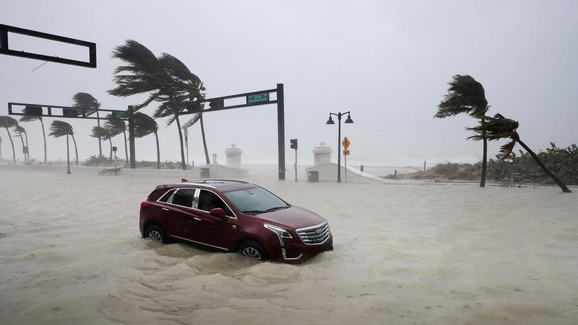 Hurrikan Irma: Land unter in Miami