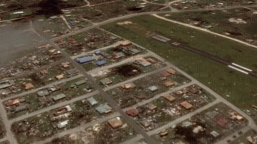 Hunderte Jachten wurden durch Hurrikan Irma in die Bucht gedrückt.