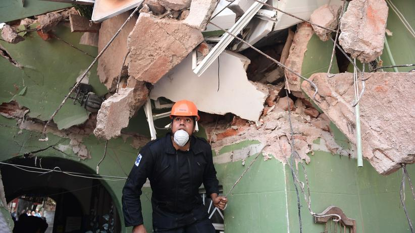 Naturkatastrophe: Mehr als 220 Tote bei Erdbeben in Mexiko