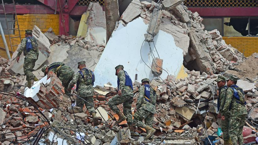 Mexiko: Zahl der Todesopfer nach Erdbeben steigt auf über 60