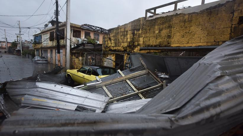 """Hurrikan Maria: """"Wir werden unsere Insel zerstört vorfinden"""""""