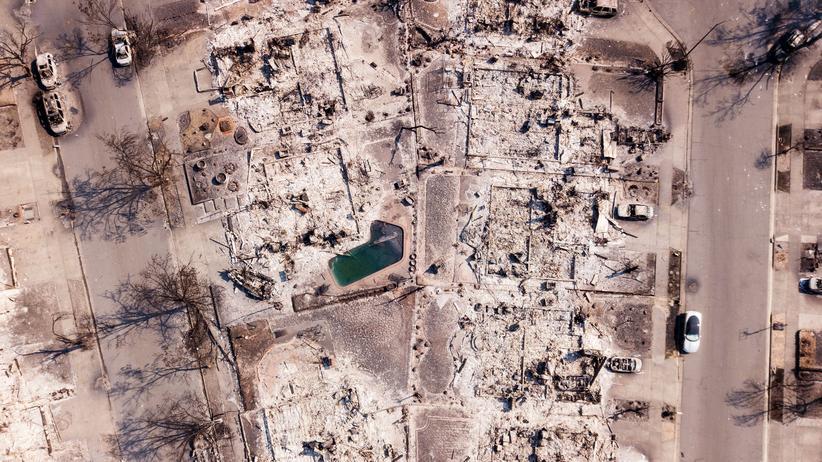 Kalifornien: Asche, wo früher Siedlungen waren