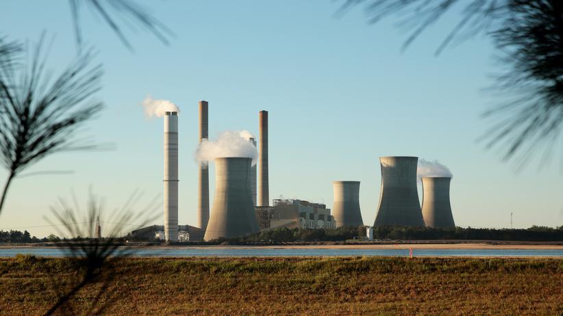 Klimawandel: Ein Kohlekraftwerk in Juliette im US-Bundesstaat Georgia