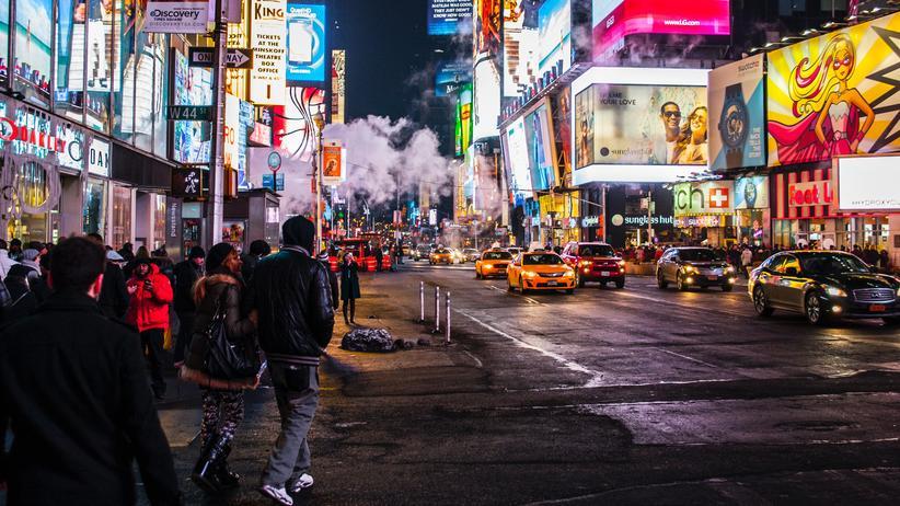 New York: Wie viele Lärmquellen sehen Sie in diesem Bild?