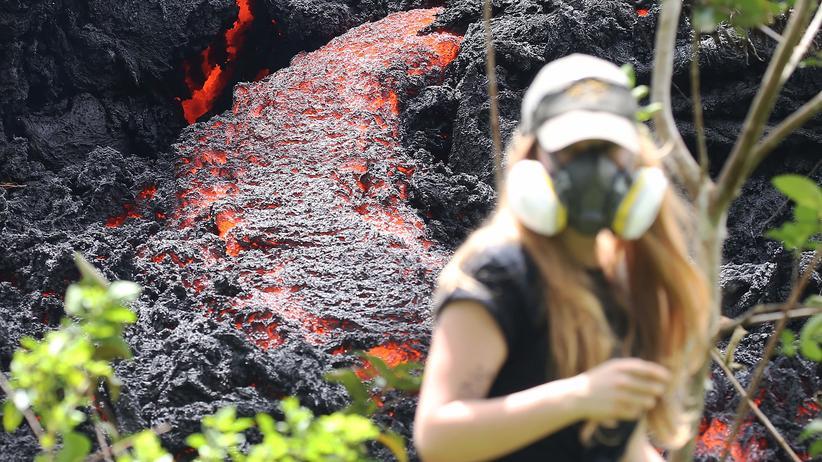 Hawaii: 10.000 Meter hohe Aschewolken