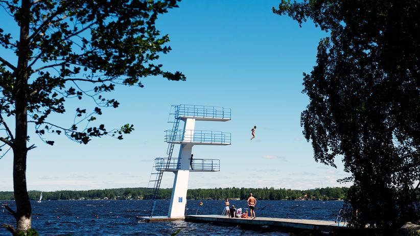 Badestellen: Gute Wasserqualität in Seen und Flüssen