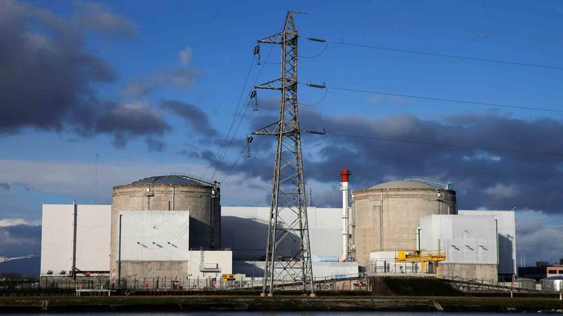 Elsass: Bald geht es vom Netz: das älteste Atomkraftwerk Frankreichs im elsässischen Fessenheim
