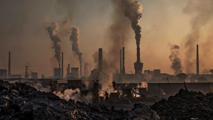IPCC-Bericht zum Klimawandel: Ein Stahlwerk in China