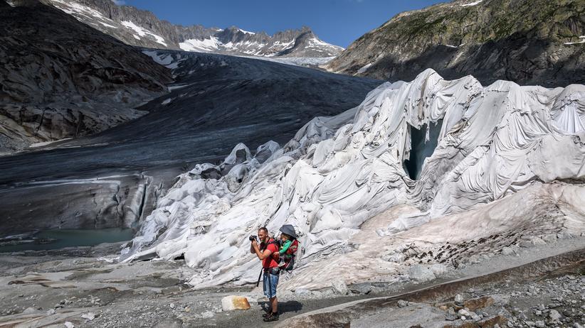 Klimawandel: Hitzesommer setzt Gletschern zu