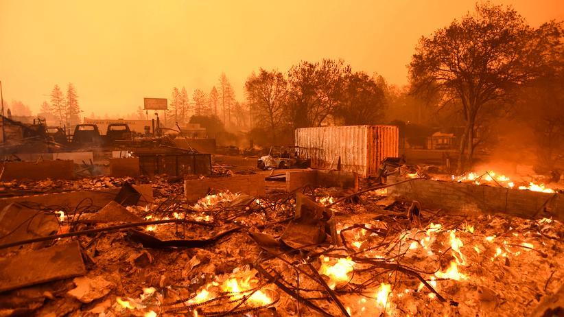 Waldbrände in Kalifornien: Was macht das Feuer so verheerend?