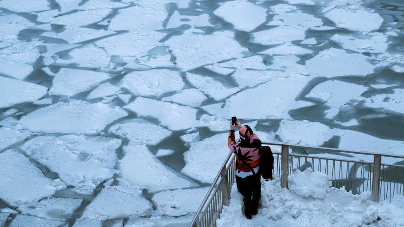Wetterextreme in Nordamerika: Jetzt extreme Kälte – in drei Tagen Frühling