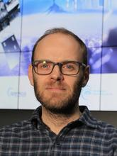 Klimawandel: Mark Parrington ist Physiker und Senior Scientist am Europäischen Zentrum für mittelfristige Wettervorhersage in Reading nahe London. Er befasst sich vor allem mit Emissionen, die bei Bränden entstehen.