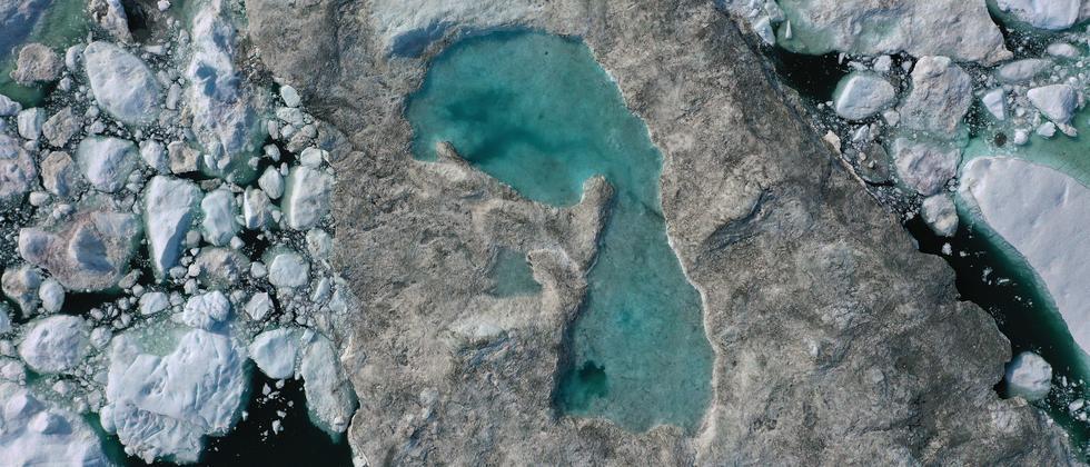 Grönland: Schwitzendes Eis