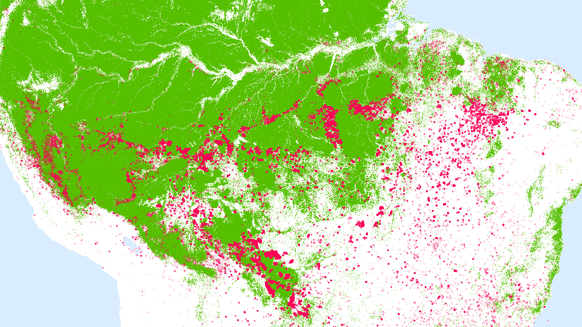 Südamerika: Feuer neben Feuer neben Feuer