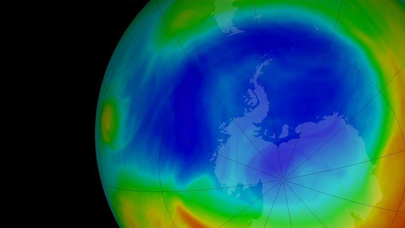 """Ozonloch: """"Der Klimawandel bremst die Erholung des Ozonlochs"""""""