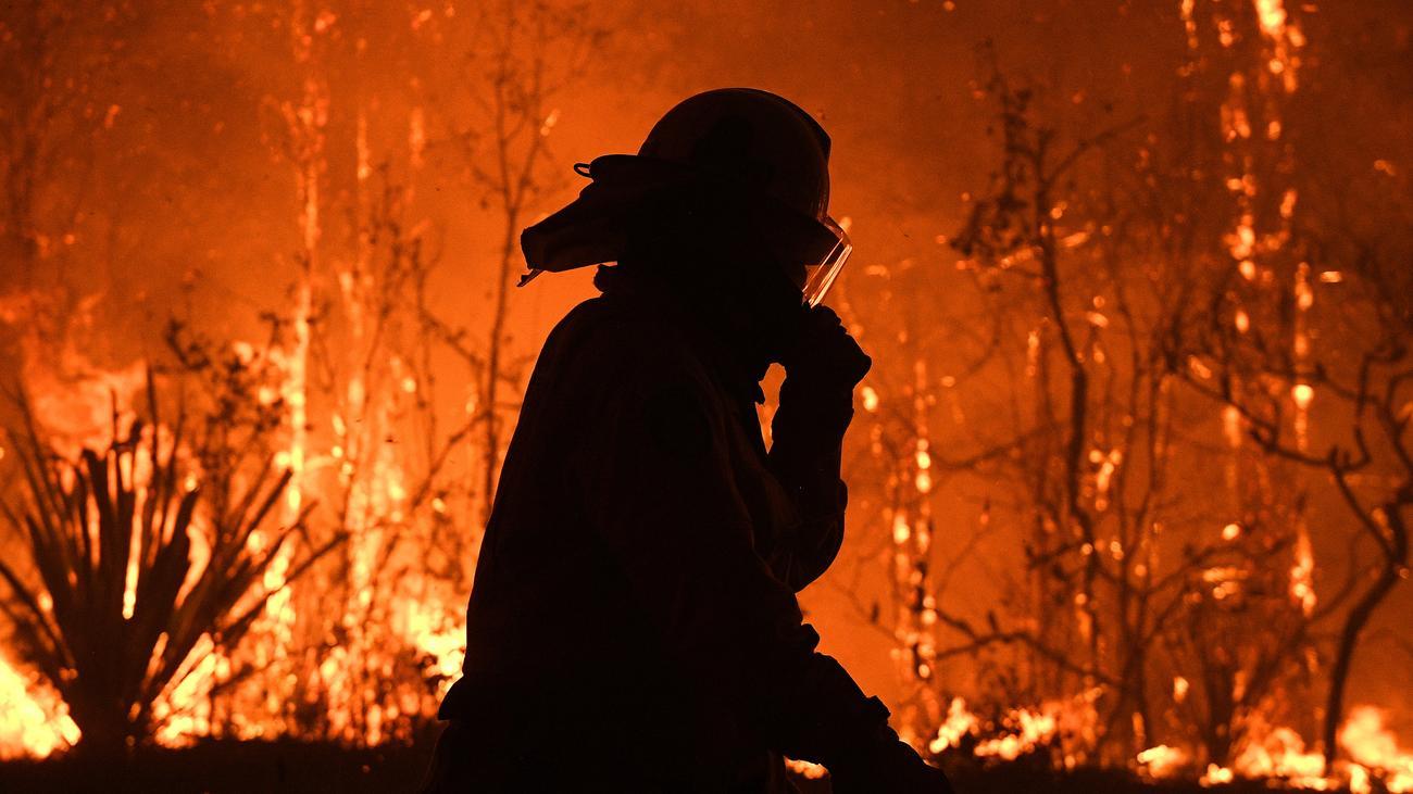 Australien: Ein Megafeuer gerät außer Kontrolle