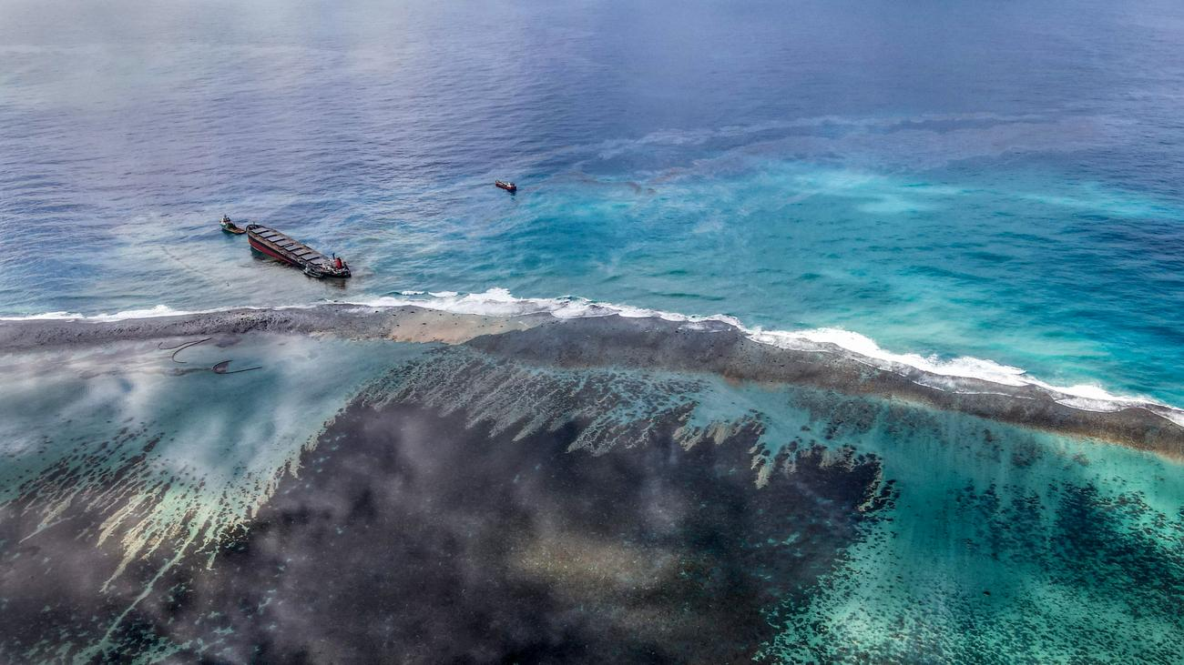 ölkatastrophe Mauritius