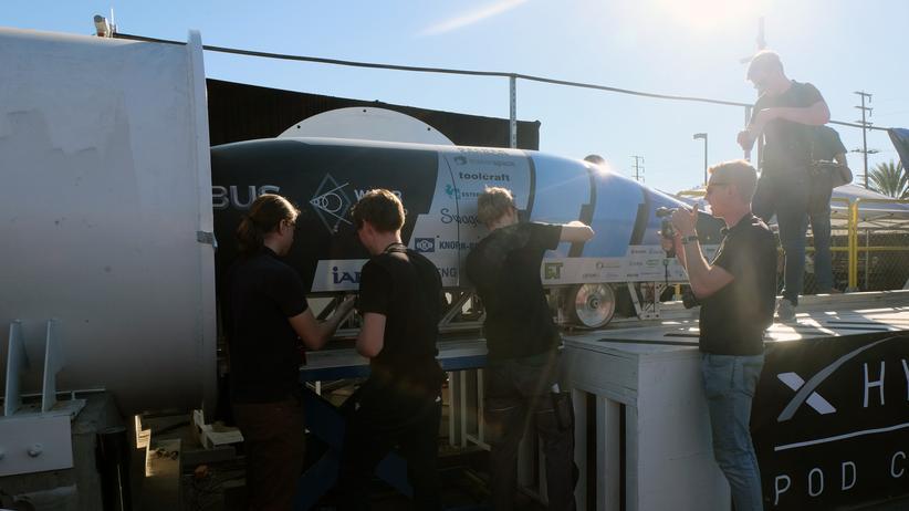 Hyperloop: Per Schallgeschwindigkeit durchs Vakuum reisen? Klar geht das!