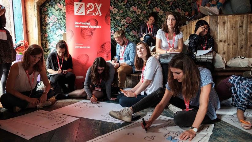 Z2X-Festival Berlin: 1.348 Visionen in zwei Tagen