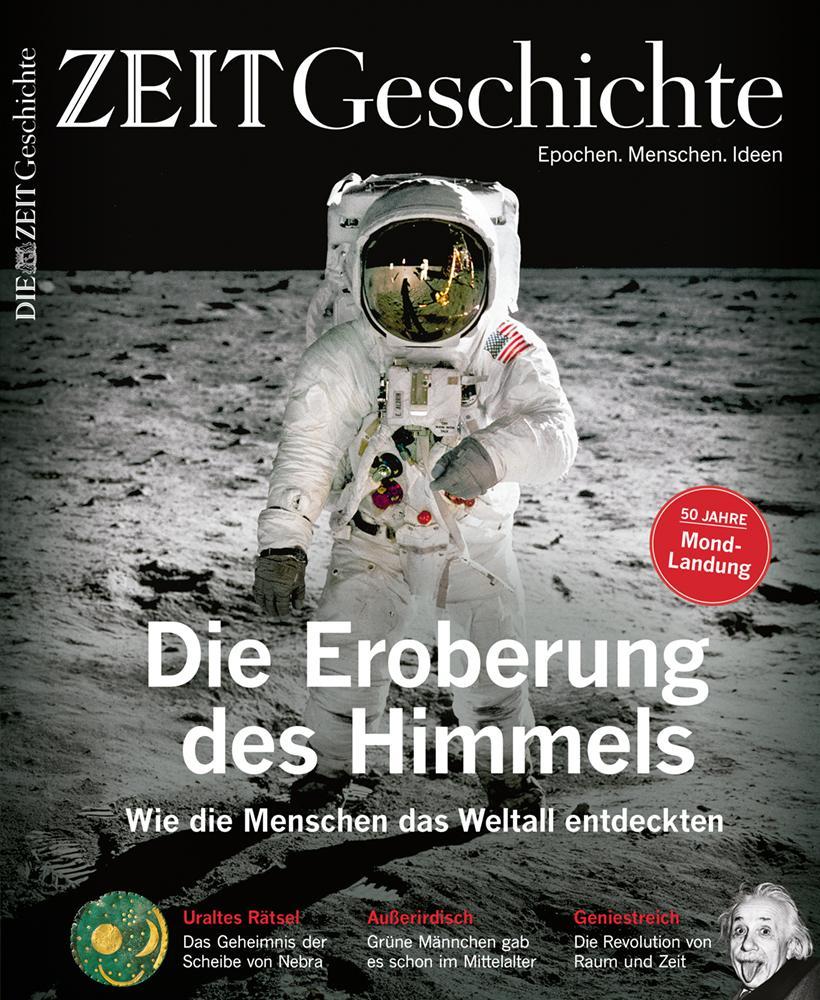 Mond: Dieser Text stammt aus dem Magazin ZEIT Geschichte Nr. 3/2019. Das aktuelle Heft können Sie am Kiosk oder hier erwerben.
