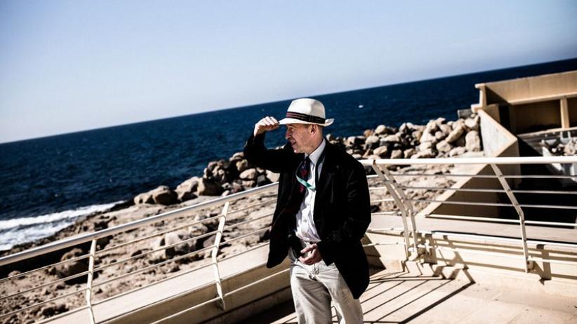 Libyen: Peter Rundell, der Vize-Chef von Eubam in Libyen, in Palm City am Stadtrand von Tripolis