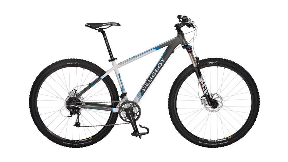 Peugeot-Mountainbike CM 02: Von A nach B