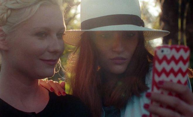 """Kirsten Dunst in """"Aspirational"""""""