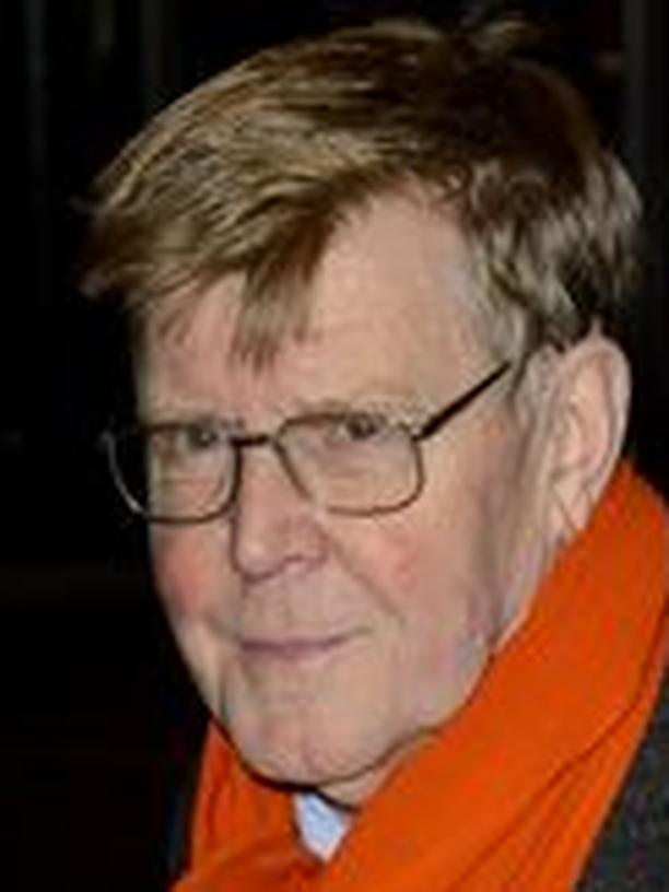Alan Bennett in einem Londoner Theater