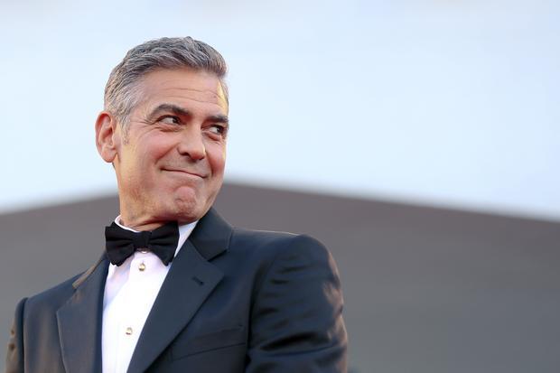 George Clooney auf dem roten Teppich