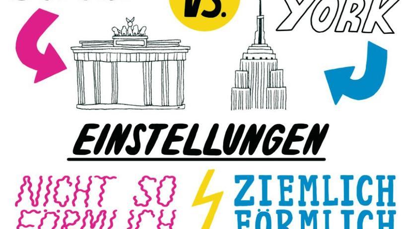 Datingverhalten in Berlin und New York