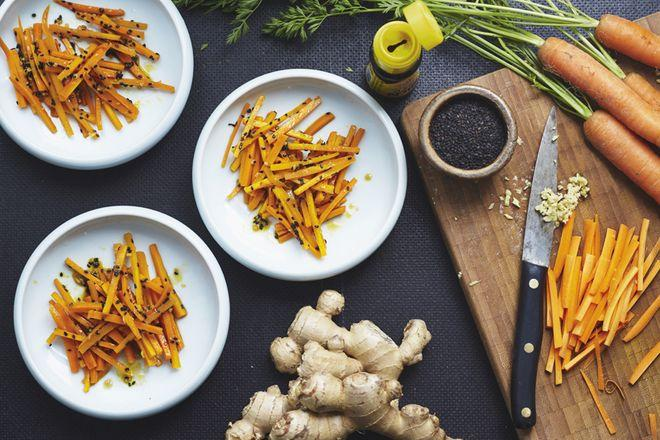 Wochenmarkt: Karotten à la Hollywood