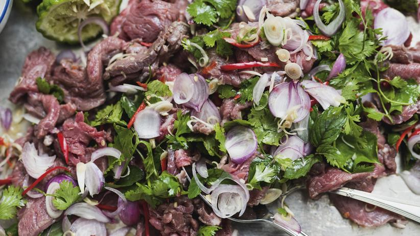 Wochenmarkt: Fleischsalat ganz anders