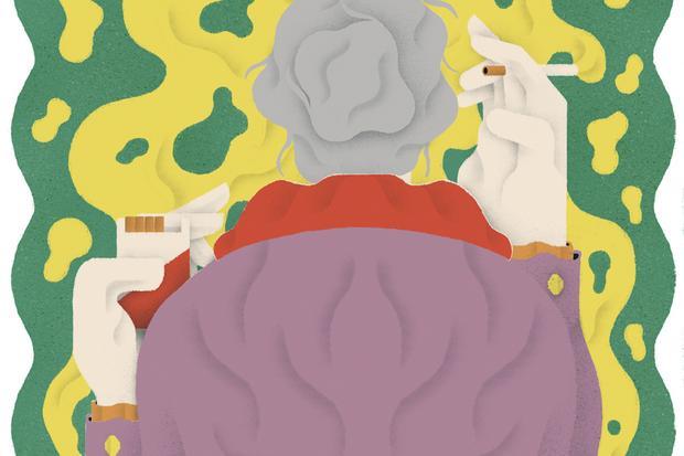 Gesundheit: Die trinkende Frau