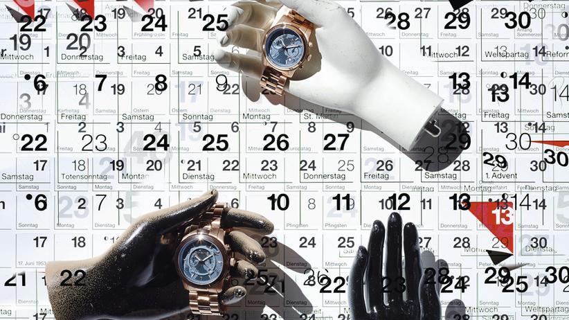 Stilkolumne: Zeichen der Zeit