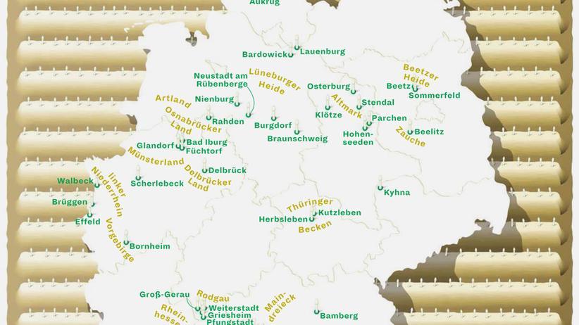 Deutschlandkarte: Hier machen sie den Stich