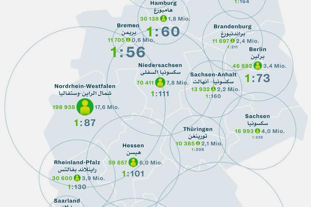 Flüchtlingswohnort: Wo die Flüchtlinge leben