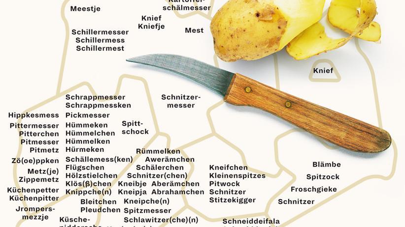 Deutschlandkarte: Von Froschgieke bis Grottenschnepper