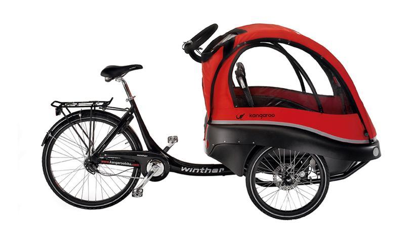 Elektro-Lastenrad: Das Kind ist König