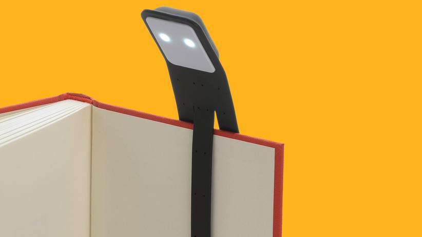 Unter Strom: LED-Leseleuchte von Moleskine
