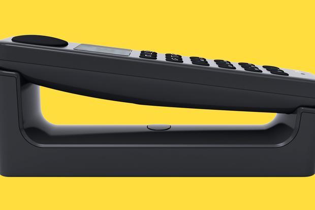 Unter Strom: Schnurloses Festnetztelefon DP 01 von Punkt