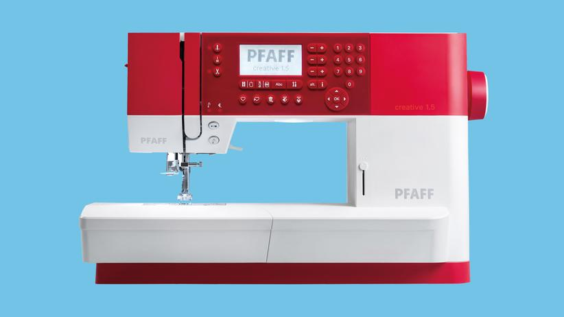 Unter Strom: Nähmaschine von Pfaff