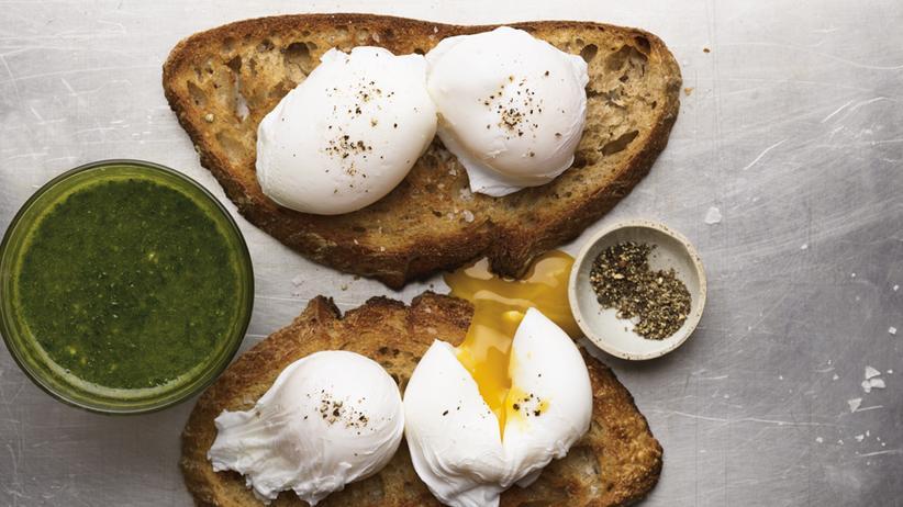 Wochenmarkt: Ein Ei zum Verlieben
