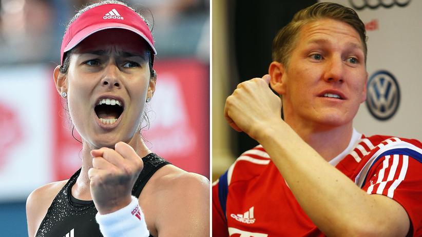 Ana Ivanović und Bastian Schweinsteiger sind ein Paar