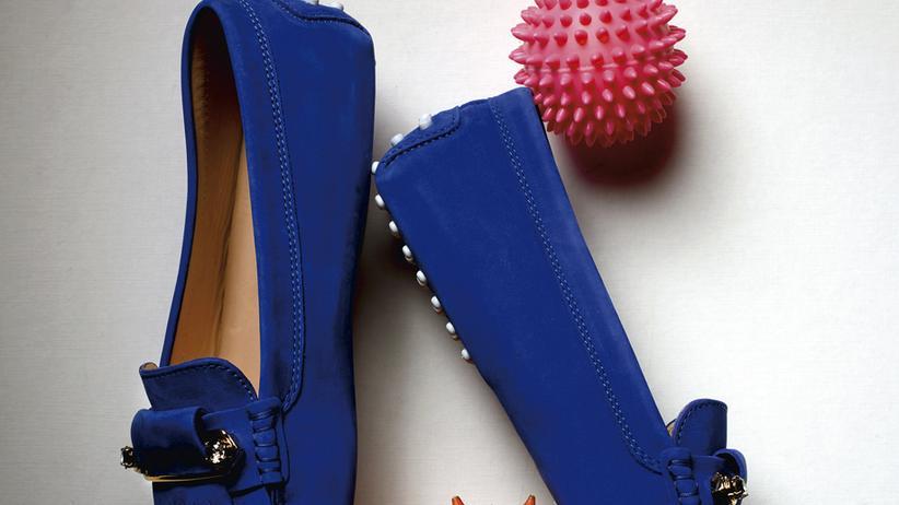 Mokassins: Den Schuh schön flach halten