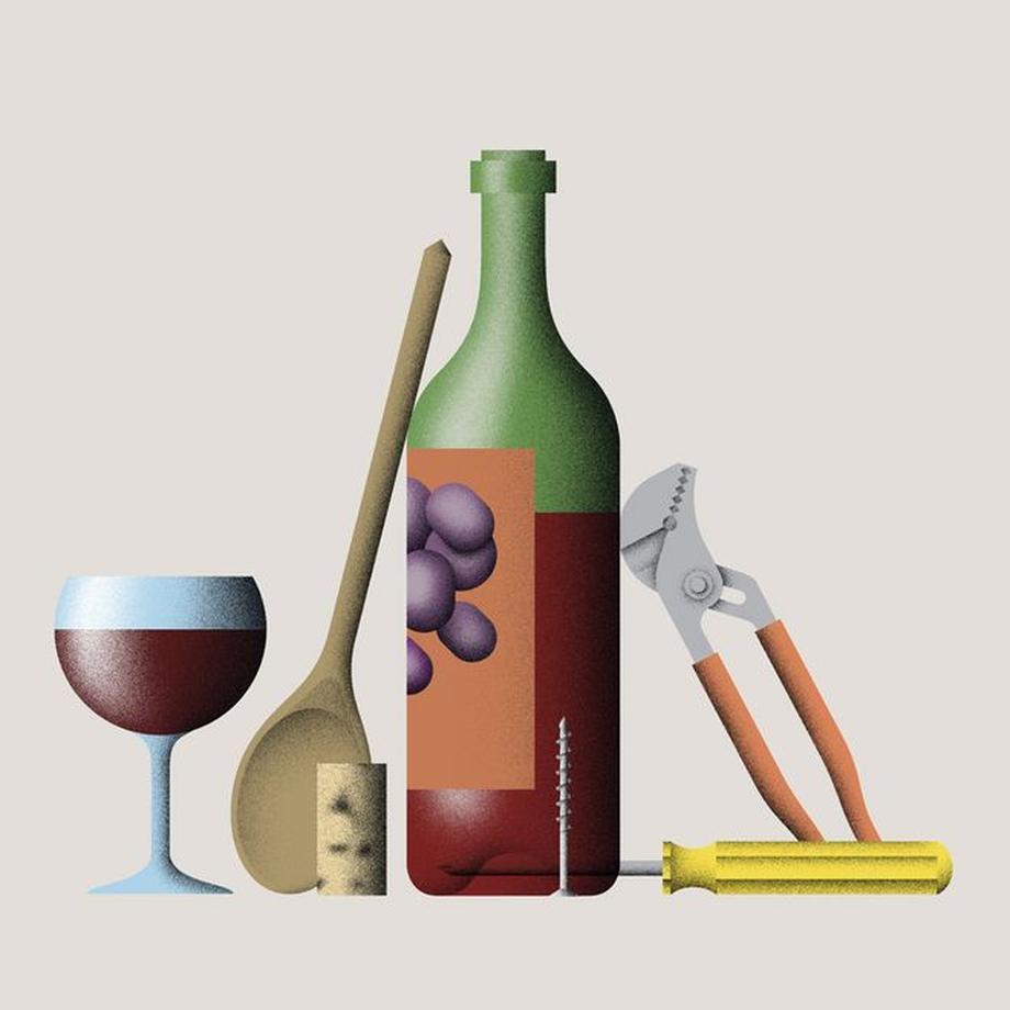 Berühmt EIne Weinflasche öffnen - ohne Korkenzieher | ZEITmagazin UQ41