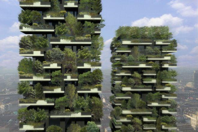 Wohnen: Ökoarchitektur, Architektur, Stadt, Natur, Kopenhagen, Mailand