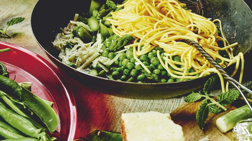 Pasta: Endlich wieder Spargel
