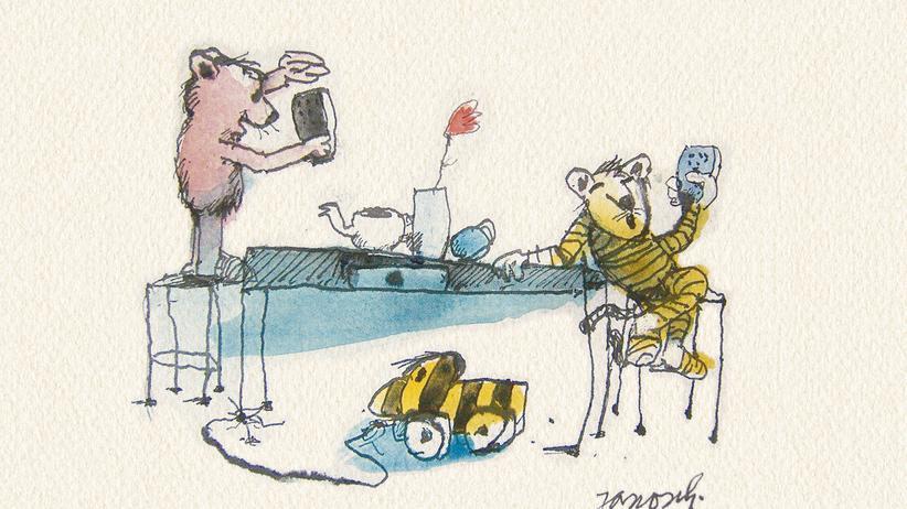 Janosch-Kolumne : Herr Janosch, was, wenn Tiger und Bär Smartphones gehabt hätten?