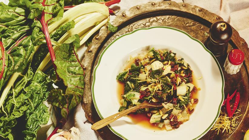 Wochenmarkt: Köstliches vom frei laufenden Mangold